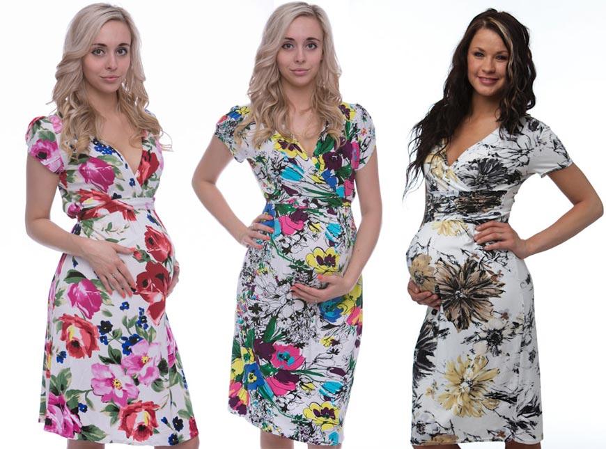 Těhotenská móda 2015  těhotenský kousek s květinovým potiskem nesmí letos  chybět v šatníku žádné těhulky 3d3f65e35e
