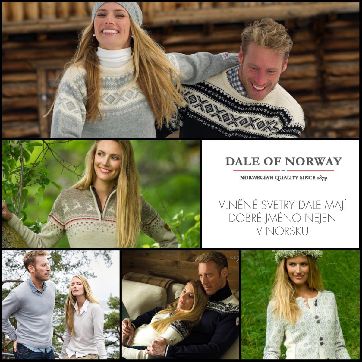 Norské vlněné oblečení společnosti Dale  909322c443
