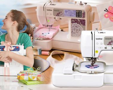 Šijte a vyšívejte! Moderní šicí stroj a vyšívací stroj je nejen skvělou pomůckou do domáckosti, ale i možnost, jak hobby proměnit ve zdroj příjmů.