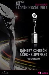 Kadeřník roku 2015: Dámský komerční účes Slovensko