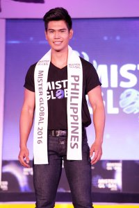 Mark Louie - Filipíny | Mister Global 2016
