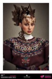 Kadeřník roku 2015: Avantgarda (Michaela Boháčová –RED Salon)