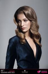Kadeřník roku 2015: Dámský komerční účes Slovensko (Marieta Murga – Lekart Hairdressing)