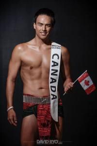 Jin Stewart - Kanada | Mister Global 2016