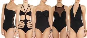 Nezapomeňte svůj šatník obohatit kouzelným i bezpečně držícím a tělo tvarujícím modýlkem jednodílných černých plavek.