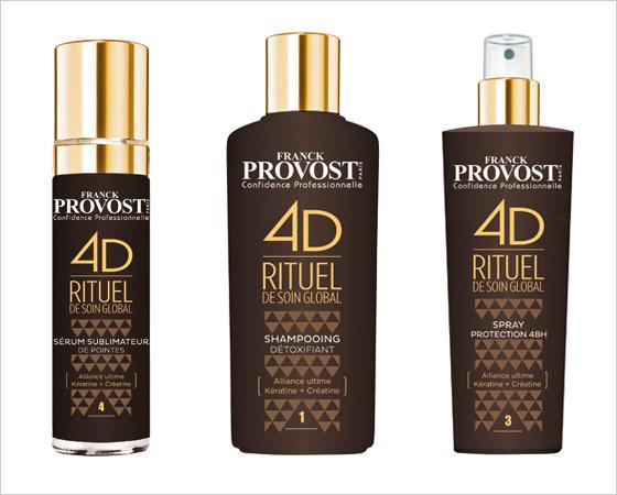 Nová salonní kúra Franck Provost 4D