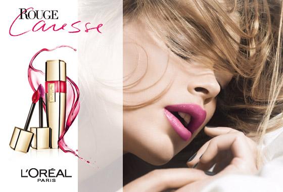 Rtěnky Caresse i lesky na rty Caresse Shine od L'Oréal Paris