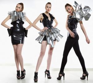 Pavla Gershonová sice svoji kolekci deseti modelů nazvala Disonance