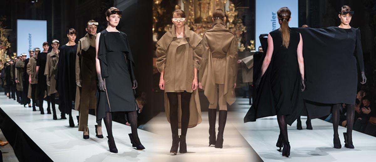Hana Zárubová předvedla novou kolekci Work in progress II na podzimním Designblok Premier Fashion Weeku.