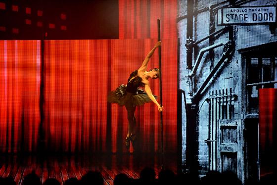 Mistryně světa v pole dance, členka baletního souboru kanadského Národního divadla a mnichovské Státní opery Elena Gibson