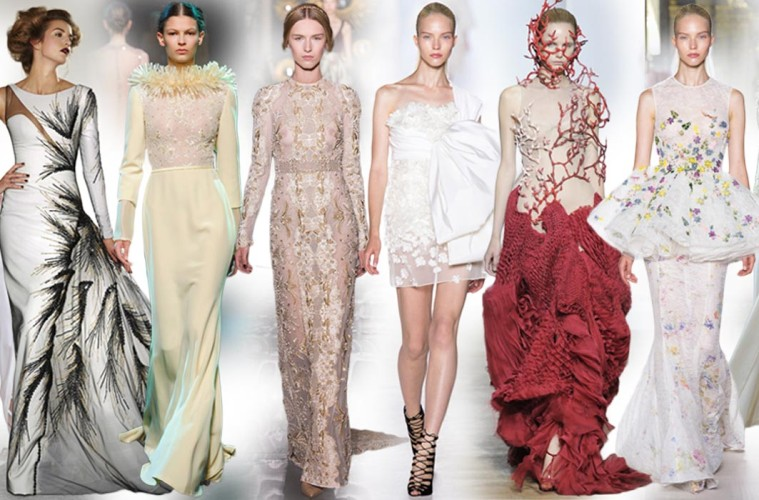 Pojďte se podívat na inspirace a svatební témata tak, jak je přinesl letošní podzimní Haute Couture Fall 2013