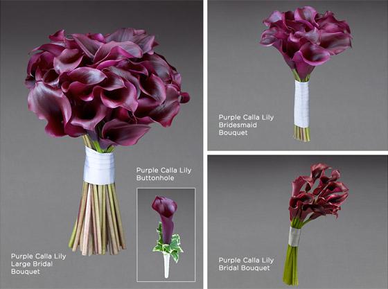 Moderní svatební kytice návrhářky Vera Wang pro zimu 2013/14.