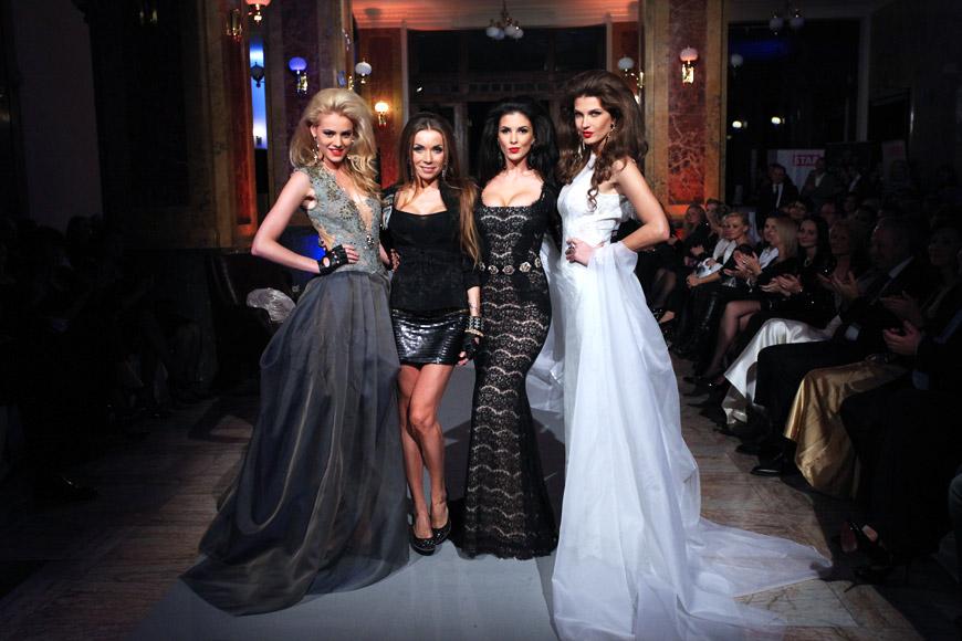 Momentky ze Zlaté módní přehlídky Bratislavských módních dnů