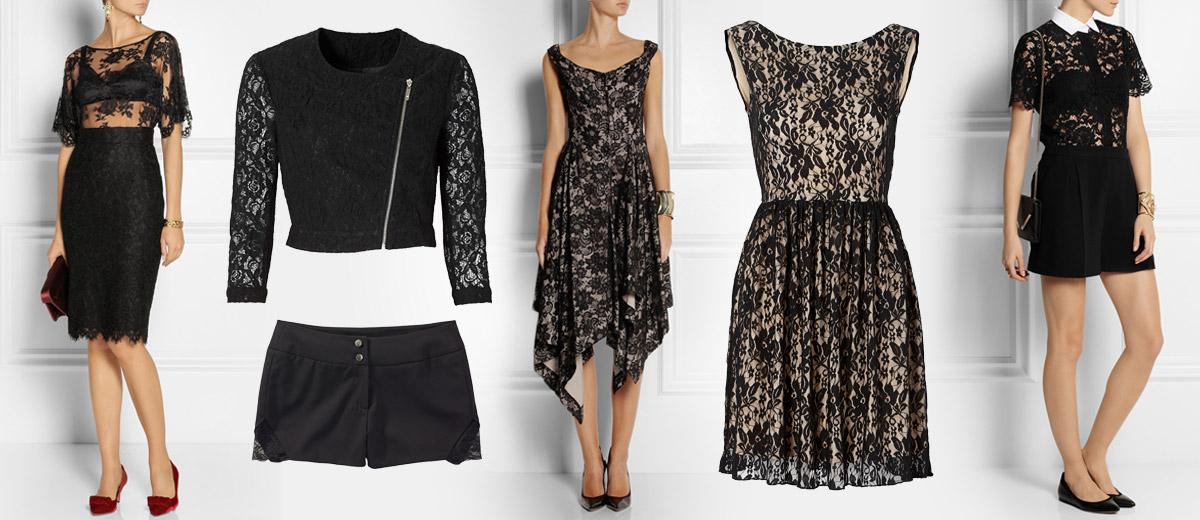 Krajkové oblečení z Takko Fashion