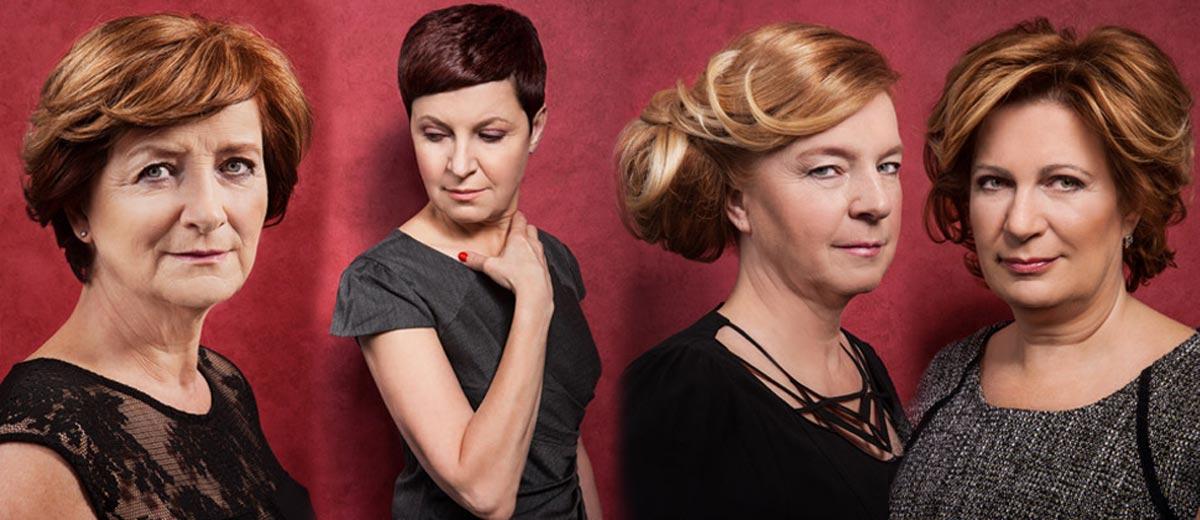 Jedinečná kolekce dámských účesů MatureWOMEN kadeřníka Honzy Kořínka ukazuje, že ženy mohou mít různé a krásné účesy opravdu v každém věku.