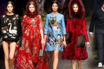 Pohádková kolekce Dolce&Gabbana pro podzim a zimu 2014/15.