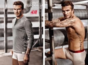 Sexy Beckham předvádí svoji kolekci spodního prádla pro H&M