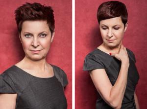 Účesy pro krátké vlasy z kolekce MatureWOMEN Honzy Kořínka.
