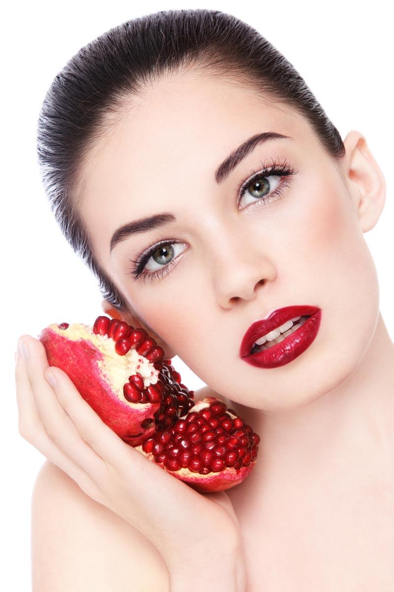 Léčivé účinky vykazuje nejen šťáva z dužiny granátového jablka, ale také listy rostliny a také jadérka.