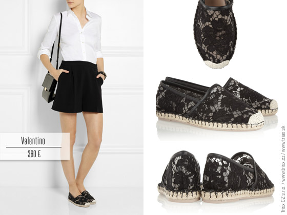 Krajkové boty a krajkové lodičky umí kouzlit s outfity – luxusní ... c92573ada0