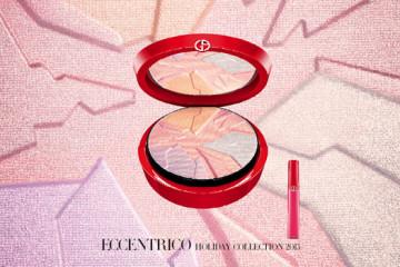 Make-up Giorgio Armani Eccentrico nabízí novou barevnou vizi pro letošní zimu v intenzivních odstínech