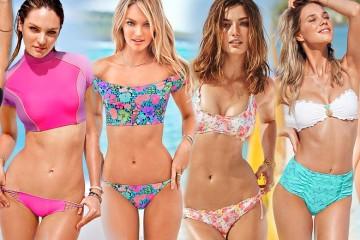 """Zajímají vás plavkové trendy pro letošní léto? Victoria`s Secret už nyní láká na svoji novou kolekci plavek pro sezónu 2014. Pojďte se podívat, jaké krásné kousky plavek a plážové módy nabízí tato líheň """"andílku""""."""