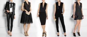 Smoking, čili tuxedo – sako a kalhoty místo večerních šatů jsou skvělá volba!