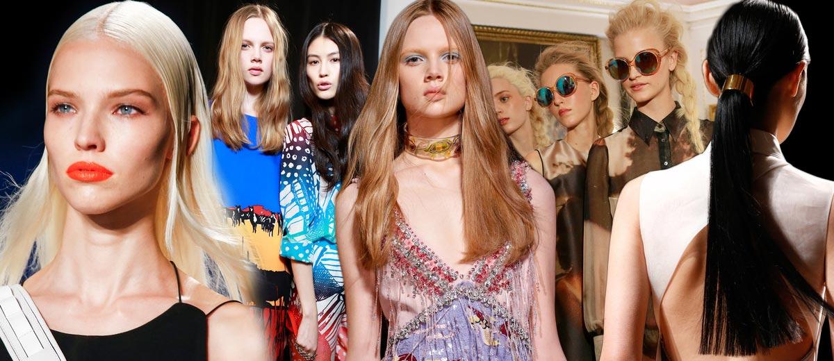 Co s vlasy na jaře? Vlasový kadeřníci a stylisté představili 10 jarních horkých účesových trendů.