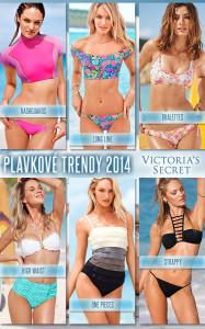 Seznamte se se šesti plavkovými trendy podle Victoria`s Secret! (Ukázka: Plavky Victoria's Secret pro rok 2014.)