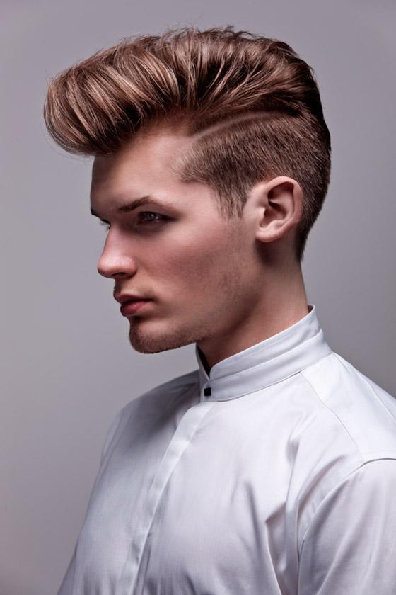 Účesy z kolekce CUT: Monika Martincová – In Hair Studio, pánský střih.