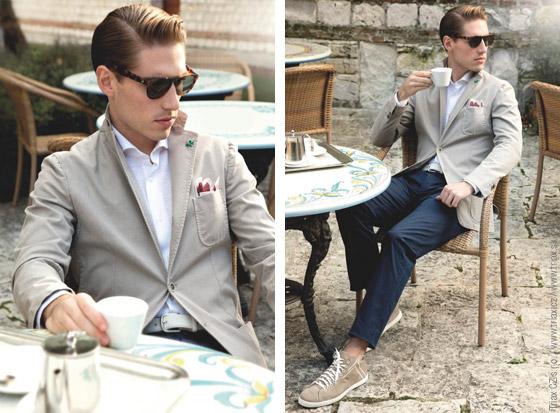 Pánská business móda Tombolini – lehká a funkční jako sportovní oděvy!