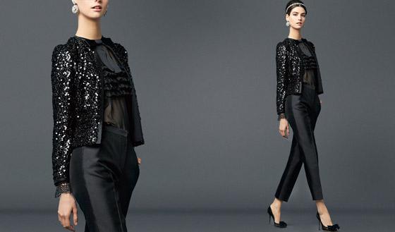 Naprosto fascinující smoking pro ženy, najdete v kolekcích Dolce&Gabbana.