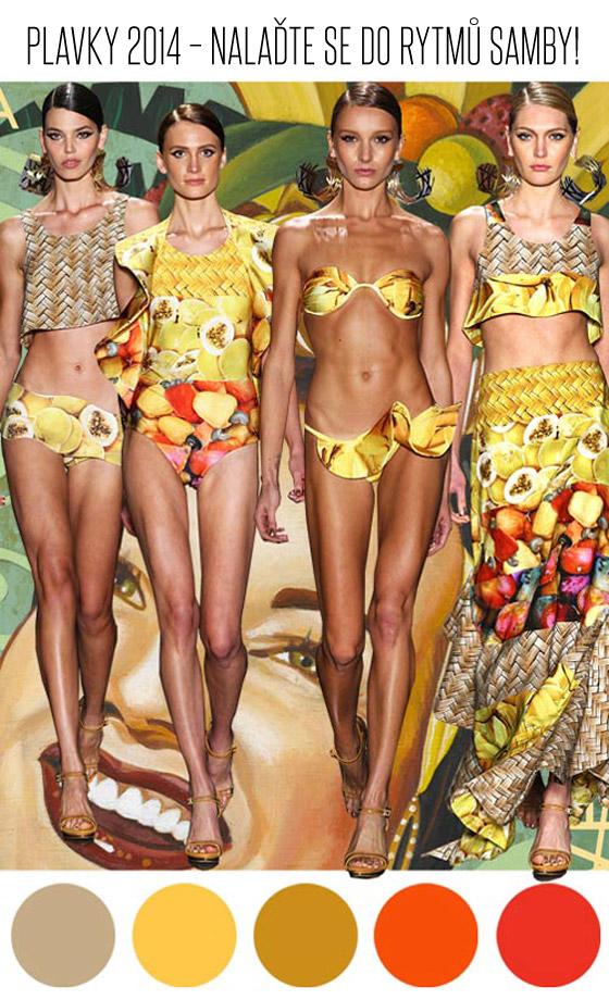 Latinskoamerická samba v 2/4 a 4/4 taktu vás naladí na plavkový trend oslavující brazilské karnevaly plné samby.
