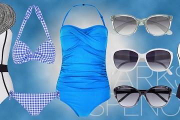 Marks&Spencer přináší pro letošní léto inteligentní plavky. Jsou z rychleschnoucích materiálů a díky své fazóně se postarají také o korekci nedostatků naší postavy.
