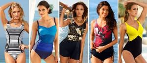 Plavky a plážová móda z kolekce zásilkového módního domu KLiNGEL