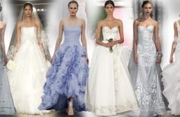 Jako první ochutnávku jsme pro vás vybrali TOP 100 nejhezčích svatebních šatů pro sezónu jaro a léto 2015.