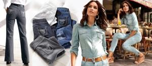 Oblečená do džínoviny od hlavy až k patě – to je horký trend pro letošní jaro a léto. Neznamená to však pouze to, že se navlečete celá do modré.
