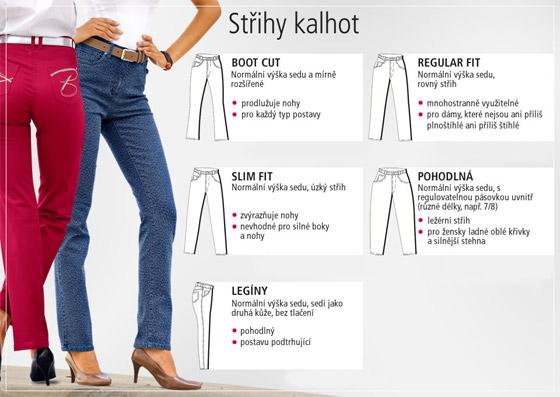 Každá dámská postava vyžaduje správný střih kalhot. Tipy na nákupy pro vás  připravila módní zásilková a04463f054