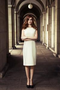 Feminine Streetstyle: Elegance