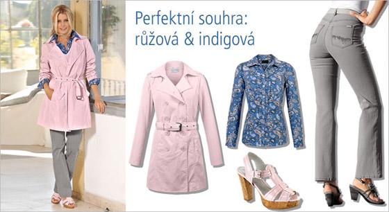 Perfektní souhra: růžová & indigová
