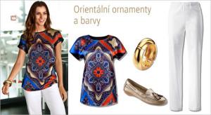 Orientální ornamenty a barvy