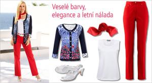 Veselé barvy, elegance a letní nálada