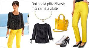 Dokonalá přitažlivost – mix černé a žluté