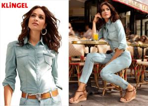 Oblečte se v této sezóně celá do džínoviny! Zůstat můžete u modré klasiky nebo kombinovat barevnou či vzorovanou džínovinu.