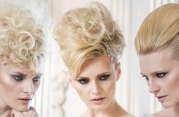 Jedna žena se třemi různými svatebními účesy – budete překvapeni, jak různě může vypadat.