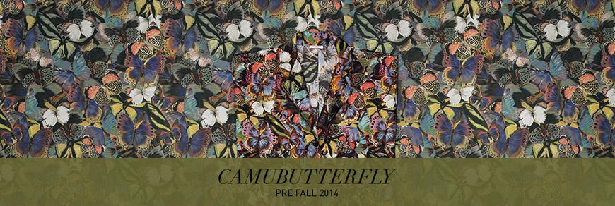 Camubutterfly – nová kamufláž Valentino (Pre Fall 2014).