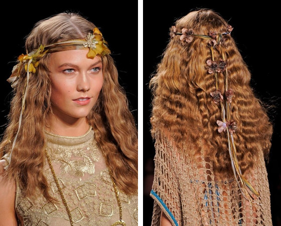 Vlasové doplňky Anna Sui S/S/ 2014