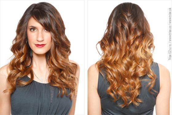 Ombré je metodou barvení, která je cestou k přirozenému vzhledu vlasů.