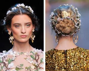 Vlasové doplňky Dolce&Gabbana S/S/ 2014