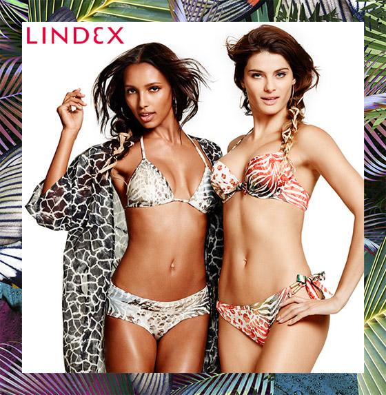 Plavky Lindex inspirované tropy a tropickým oparem.